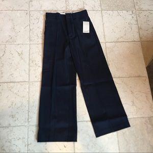 Zara Basic Navy Blue Dress Pants, Size XS